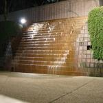 Burrard Station Waterwall